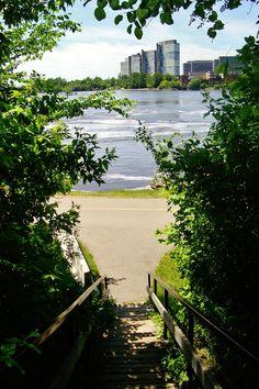 My hometown Gatineau, seen from Ottawa. British North America, Ottawa River, Capital Of Canada, Urban, Newfoundland, Plein Air, Wonderful Places, Beautiful Landscapes, Ontario