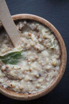 smalec wegański z fasoli Hummus Recipe, Cheeseburger Chowder, Healthy Eating, Healthy Food, Gluten, Soup, Lunch, Healthy Recipes, Vegan