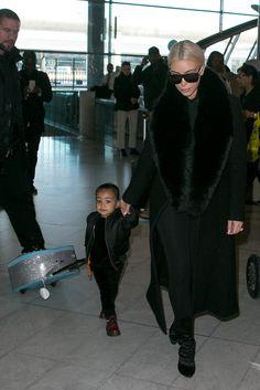 Kim Kardashian y North West