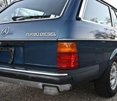1985 Mercedes 300 Turbo Diesel station wagon.