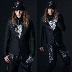 Fashion Men Black One Button Slim Fit Prom Casual Dress Suit Jackets SKU-11401744