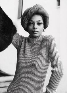 Diana Ross in Mahogany (1975) Sweater and Muff by Celine (2014) Photo series by Bobby Doherty