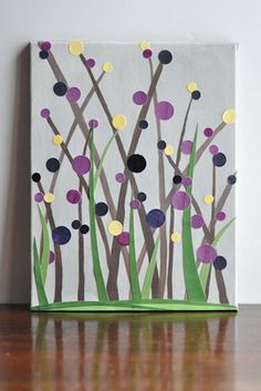 Springy Dot Art