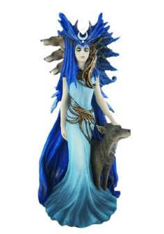 Anne Stokes HEKATE Statue Wicca Nemesis Now Nemesis Now Ltd