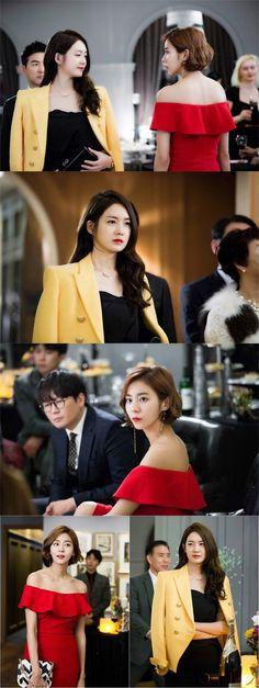 New drama 'Illumination' shares stills of UEE and Lee Yo Won's suspenseful first encounter | allkpop