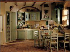 Perimetro Cucine presenta le sue cucine country chic