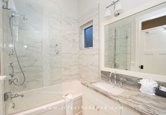 Start your morning like a real princess in this luxury bath with jetted tub.