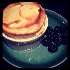 cream cheese creme fraiche cheesecake with honey rum roasted pineapple ...