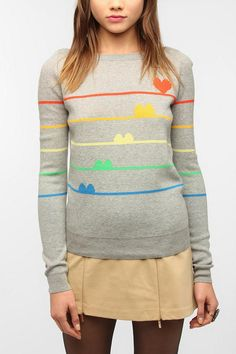 Cooperative Kitsch Pullover Sweater Online Only
