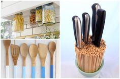DIY Wohnideen und Küchenideen aus alten Gegenständen