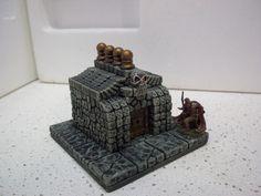 Dungeons & Dragons 4X4 dungeon floor w/ skull tomb dwarven forge undead in Toys & Hobbies | eBay