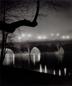 Brassai's images of Paris at night are magical. I hope I can make it back there soon. . .