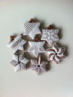 Christmas Treats, Christmas Cookies, Christmas Diy, Xmas, Honey Cookies, Sugar Cookies, Icing Frosting, Biscuit Cookies, Royal Icing Cookies