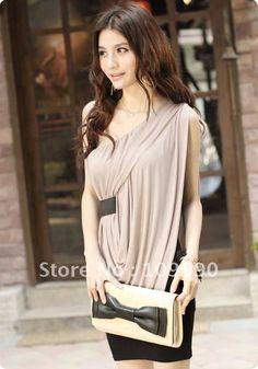 Drop-shipping-free-wholesale-Bridesmaid-thin-cool-Noble-temperament-and-elegant-fashion-hot-fold-Tight-Greek.jpg (700×1000)