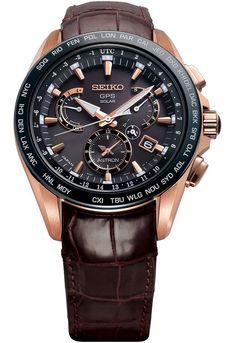 Seiko Astron GPS Solar Dual-Time Novak Djokovic Limited Edition