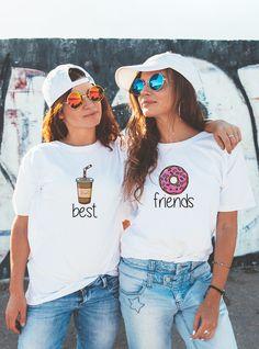best friends, friends, friend, anniversary gift, matching couple, couple, set, outfit, matching set, gift for friends, gift for, for man, for woman