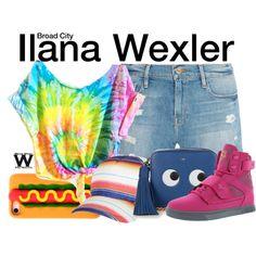 Inspired by Ilana Glazer as Ilana Wexler on Broad City.