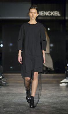 MENCKEL A/W '14 Copenhagen Fashion Week, Runway, Sweaters, Fashion Weeks, Black, Dresses, Cat Walk, Gowns, Black People