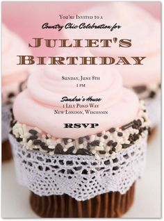 Turn your #birthday into a southern #soiree with these @sandrashm #postmark invites: