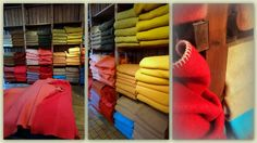 K L E U R R I J K: Bezoek aan het TextielMuseum in Tilburg : tentoonstelling wollendekenfabriek