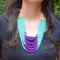 Collar Pepas Azucena | Dulce Encanto accesorios para mujer.  Compra tus accesorios desde la comodidad de tu casa u oficina en www.dulceencanto.com #accesorios #accessories #aretes #earrings #collares #necklaces #pulseras #bracelets #bolsos #bags #bisuteria #jewelry #medellin #colombia #moda #fashion