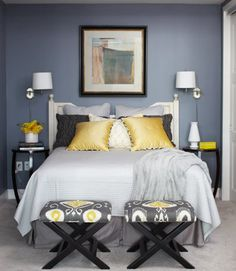 Must-Try Color Combo: Gray & Yellow