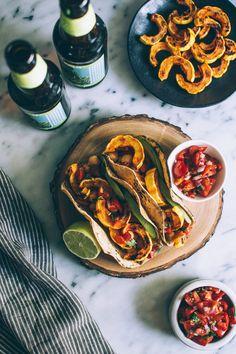 Miso Squash Tacos
