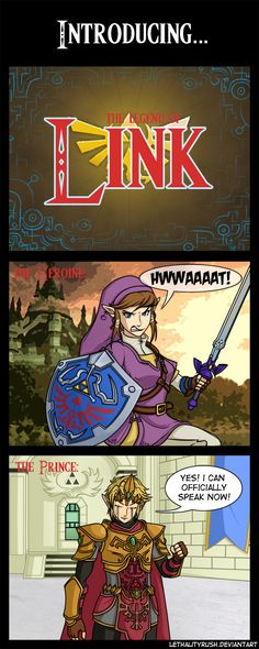 Ok so Link looks flipping awesome. This should happen