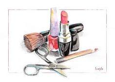 Картинки по запросу рисунок скетч макияж