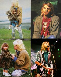 Courtney wearing Kurts sweater after his suicide. <3