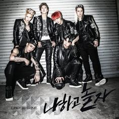 "Cross Gene reveals tracklist and jacket image for their upcoming mini album ""Play With Me"" Cross Gene, K Pop, Tokyo Ghoul, My Love Song, 2010s Fashion, Kim Min Gyu, Jacket Images, Good Genes, Anime Princess"