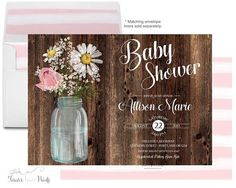 Rustic Baby Shower I