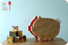 Plywood Pig