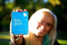 Idea Deck A Classroom, Learning Environments, Creative Thinking, Deck Of Cards, Decks, Creativity, Objects, Inspire, Games