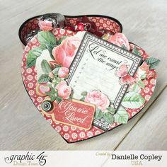 Valentine's Candy Box, Mon Amour, Danielle Copley, Graphic 45 #graphic45
