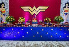 Trendy Birthday Ideas For Women Decoration 19 Ideas Birthday Party Snacks, Birthday Party Games, Birthday Party Decorations, Birthday Party Invitations, Birthday Ideas, Birthday Wishes, Wonder Woman Birthday, Wonder Woman Party, Birthday Woman