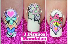 Youtube Nail Art, Nail Art Videos, Perfect Nails, Nail Arts, Diy And Crafts, Nail Designs, Hair Beauty, Diana Diaz, Beautiful