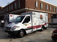Ambulance washed and detailed by Capitol Shine for the Washington Auto Show
