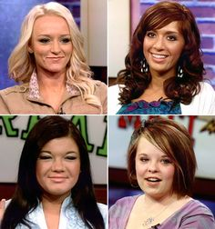 "Teen Mom canceled. MTV, ""Season 4 will be the final season of Teen Mom with Maci, Catelynn, Amber and Farrah."""