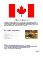 20 décembre Canada, Advent Calendar, World
