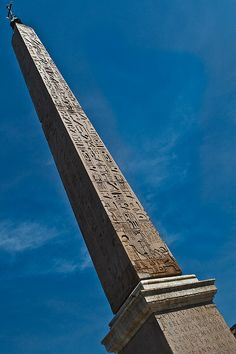 Lateranense in Rome, the largest standing ancient Egyptian obelisk in the world. Originally from the temple of Amun in Karnak.map Brought to Alexandria with another obelisk by Constantius II, and brought on its own from there to Rome in 357 to decorate the spina of the Circus Maximus.