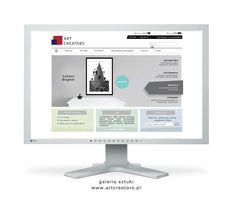 e-commerce art gallery www.artcreators.pl