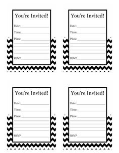 Please contact me if you are looking for djs httpsdjpeter free printable chevron invitations filmwisefo Choice Image