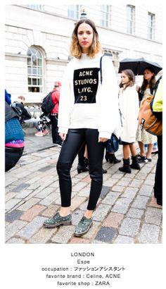 Celine, Zara, London Street, Acne Studios, Style Me, Street Style, Street Fashion, Jackets, Inspiration
