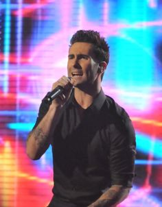 Adam Levine, just because I haven't repinned one of him in a while