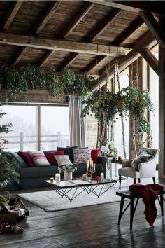 Backyard Ideas Discover Patterned Cushion Cover - Natural white/Christmas - Home All Patio Deck Designs, Pergola Design, Home Interior Design, Interior And Exterior, Interior Decorating, Rustic Exterior, Modern Interior, Exterior Design, Home Modern