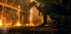 First look at the Baryonyx! Jurassic World Fallen Kingdom