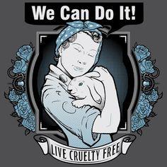 Get started at humanesociety.org/becrueltyfree! #BeCrueltyFree