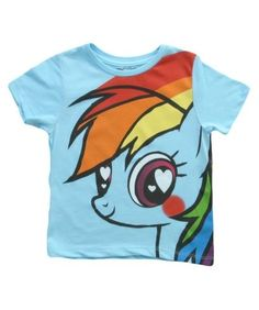 Kids My Little Pony Hearts & Rainbows T-Shirt - Listing price: $25.00 Now: $15.95