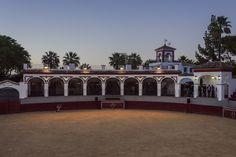 Salón Cañada Real, con vistas a la plaza de toros  www.haciendaelvizir.com  #bodas #congresos #convenciones #incentivos #reuniones #mice #eventos #hacienda #sevilla